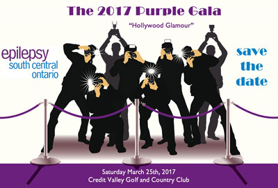 Epilepsy South Central Ontario Purple Gala 2017